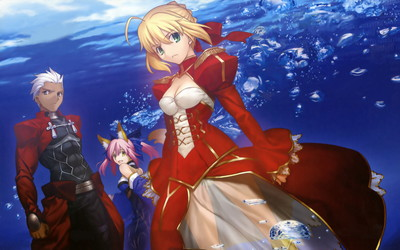 Fate/EXTRA 1920x1200 壁紙