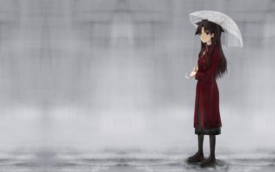 Fate/stay night 遠坂凛 1920x1200 壁紙
