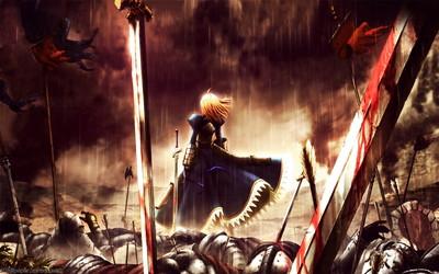 Fate/Zero セイバー 1920x1200 壁紙
