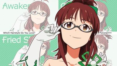アイドルマスター 秋月律子 1920x1080 壁紙