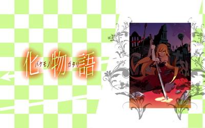物語シリーズ 忍野忍 1920x1200 壁紙