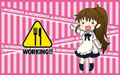 WORKING!! 種島ぽぷら 1920x1200 壁紙