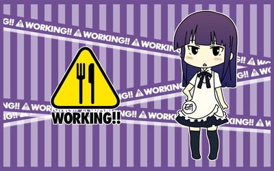 WORKING!! 山田葵 1920x1200 壁紙